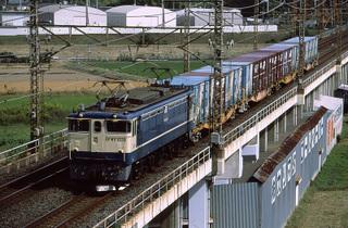 武蔵野線 3461列車 EF65 1038[髙] 2007/10/15