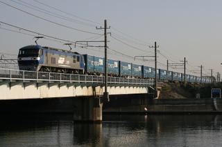 東海道貨物線 2057列車 EF210-132[鶴]