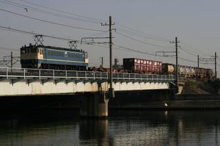 東海道貨物線 2074列車 EF65 1116[髙] 2008/03/23