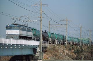 東海道貨物線 5760列車 EF65 118[髙] 2006/12/23