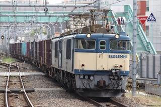 常磐線 2459列車 EF64 1012+EF64 1020[髙] 2008/09/27