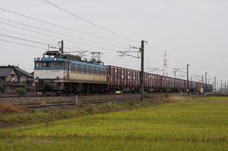 北陸本線 1086列車 EF81 455[富山]