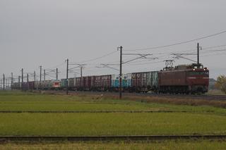 北陸本線 1097列車 EF81 148[富山]