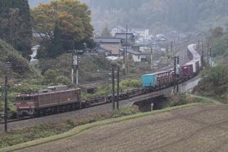 北陸本線 4076列車 EF81 120[富山]
