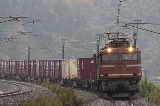 北陸本線 1083列車 EF81 35[富山]