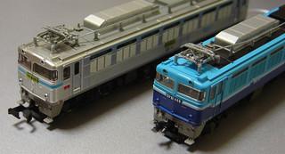 門司機関区のEF81の模型