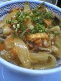 吉野家の豚キムチ丼