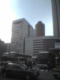 大阪駅桜橋口の朝の風景