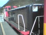 トロッコ列車の機関車