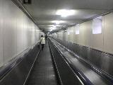 新下関駅の動く歩道