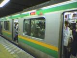東海道線のE231系