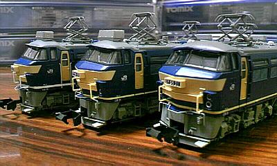 EF66の貨物機たち